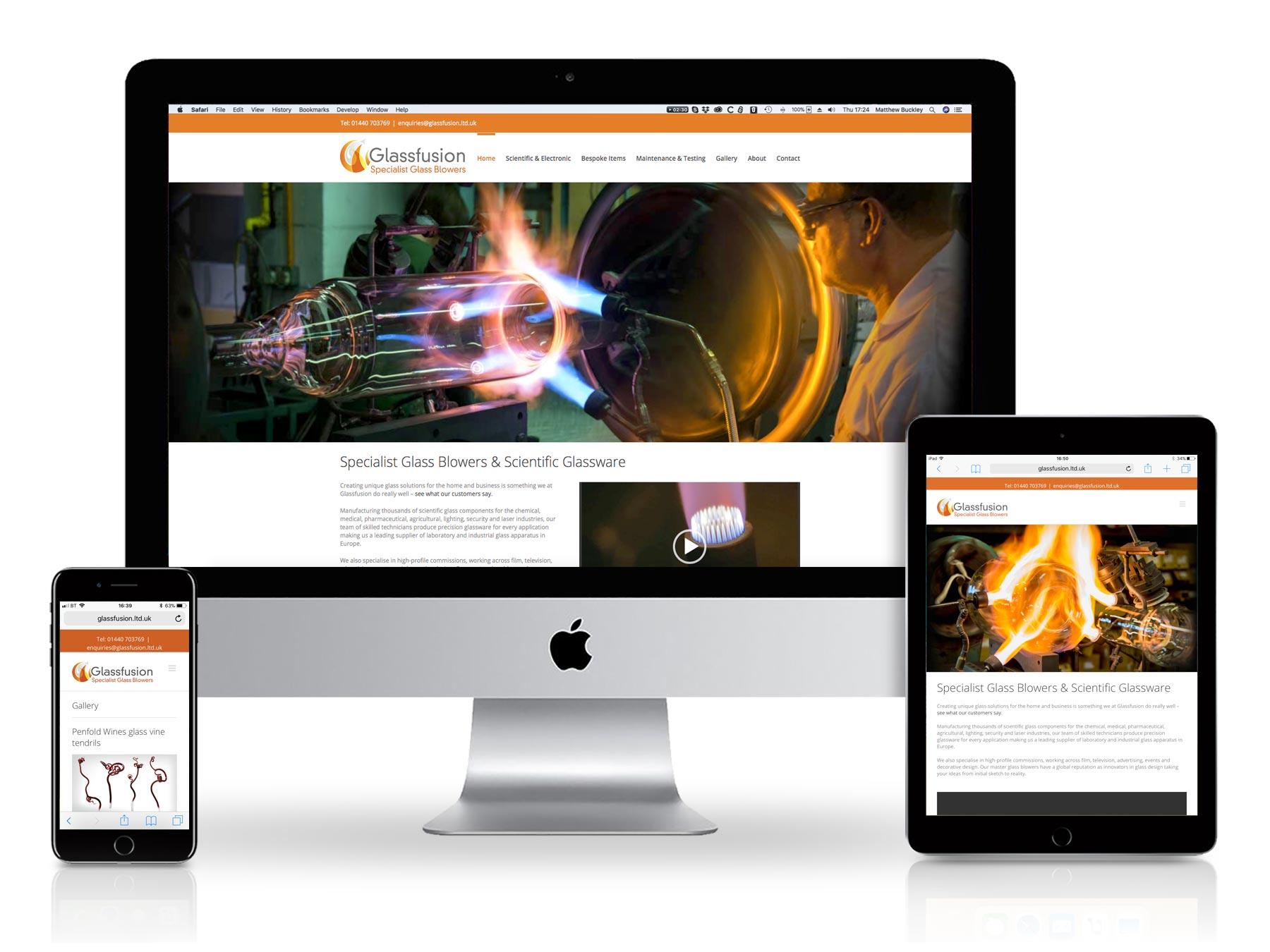 Glass Fusion Website
